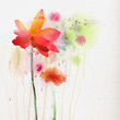Quadro Watercolor lily