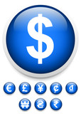 Currency signs symbols (vectors)