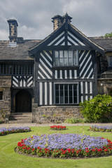 south facade of shibden hall in halifax