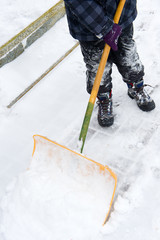 to shovel snow