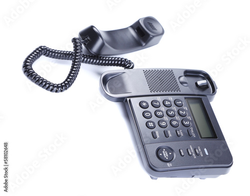 Black Office Phone.