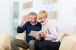 Rentner zu Hause erhalten gute Nachrichten