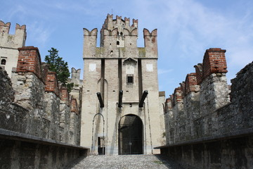 Rocca Scaligera Castle (Lake of Garda, Sirmione, Italy)