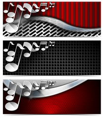 Three Musical Banners - N4