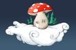 Fliegender Pilz