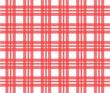 tissu rouge à carreaux quadrillé