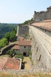 View of Gavi Fort (Gavi Ligure, Alessandria, Piedmont, Italy)