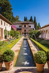 Wasserspiel Alhambra Granada
