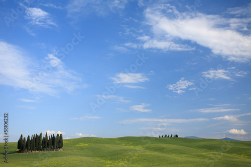 paesaggio toscano valle d'orcia