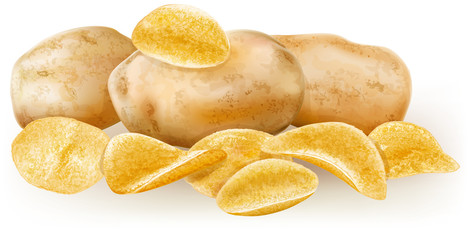 potatos and potato chips