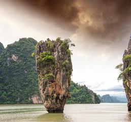 Phang Nga Bay rocks, James Bond Island, Thailand