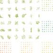 Frühling, Frame, Blätter, Laub, Ranke, Blümen