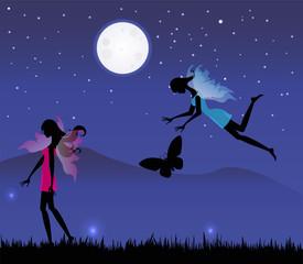 fate sotto il chiaro di luna