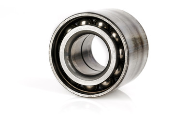 Dismantled old ball bearing