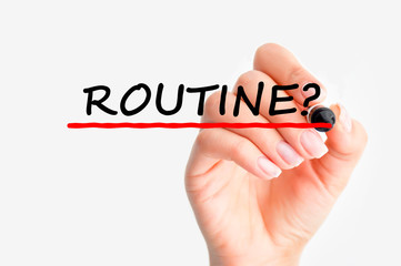 Routine relationship
