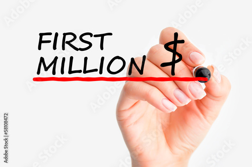 Making first million