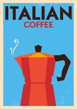 Affiche de cru de café
