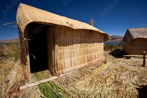 Uros floating islands - Titikaka Lake