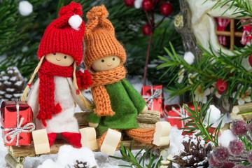 winterliche Weihnachtsstimmung