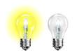 ampoule jaune