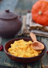 pumpkin and millet kasha