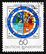 Postage stamp Germany 1982 Calendar Illumination