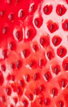 macro fraise