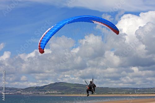 Leinwandbild Motiv paraglider
