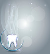 Dental background. Beautiful and bright design.