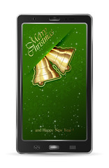 Mobile with Christmas bells