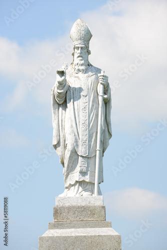 Saint Patrick statue