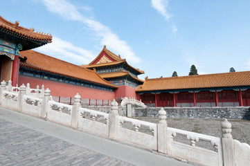 One of the towers in Forbidden City, Beijing, China