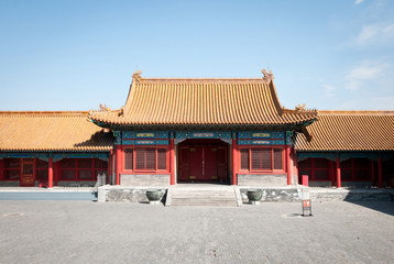 Jinghe Gate (Jinghemen) on Inner Court, Forbidden City, Beijing