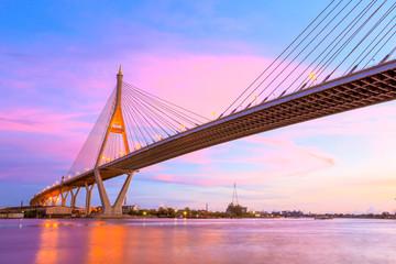 twilight bridge concrete