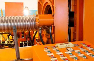 Corrugation forming mashine