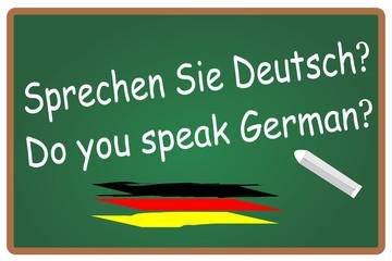 Sprechen Sie Deutsch German  #131108-svg01