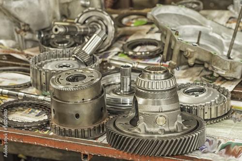 Automatic Transmission Parts | Buy Photos | AP Images | DetailView
