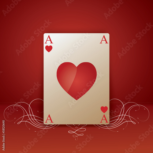 Lovely Ace Heart
