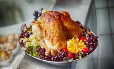 Turkey on plate