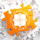 SWOT Analisis on Orange Puzzle.