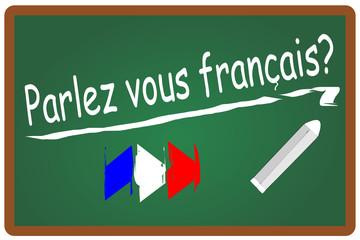 Parlez vous francais Französisch #131108-svg04