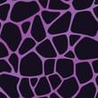 Violet Giraffe Pattern