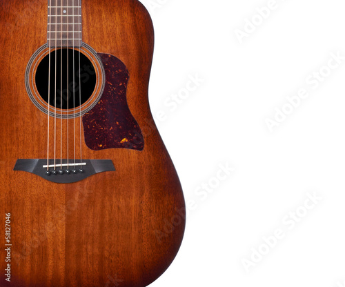 acoustic guitar, abstract background