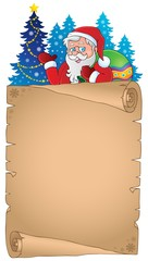 Christmas thematic parchment 4