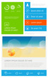 elements of infographics — Stock Vector