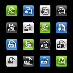 Document Icons 1 -- Gelbox Series