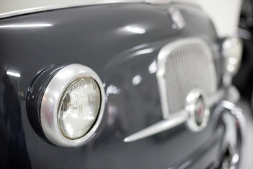 Fiat 600 multipla vintage classica car headlight
