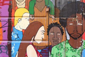 Marseille - Street art (Le Panier)