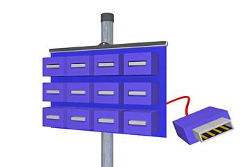USB distributor