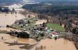 Leinwanddruck Bild - Washington State Flood